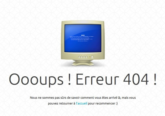 Comment construire une bonne page 404 pour retenir les clients ?